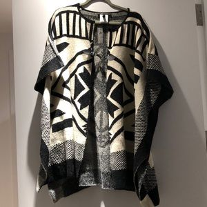 BCBG Sweater Cape